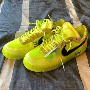 Nike Off-White Air Force 1 Volt